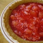Sparkling Grapefruit Pie - Fresh grapefruit sections are arranged in the bottom of a baked pie shell and topped with a gelatin mixture for a refreshing tart-sweet pie. Serve with whipped cream.