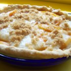 Sour Cream Peach Pie - This recipe combines the delicious flavors of peaches with sour cream and a hint of almond extract.