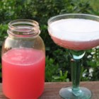 Rhubarb Margarita - This is a fabulous sweet-tart combo!
