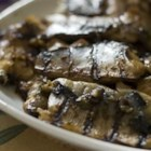 Japanese Broiled Mackerel - Japanese marinade sauce gives a lovely taste and texture to broiled mackerel. Yellow tail, tuna or salmon are also good for this recipe. Easy, exotic!