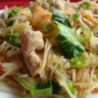 Pork and Shrimp Pancit - A traditional Pancit taught to me by a Filipino friend while stationed overseas. Delicious and easy!