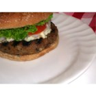 Mushroom Blue Cheese Turkey Burgers - Chopped mushrooms and onions keep these turkey burgers perfectly moist on the grill. Blue cheese rounds out this quick favorite with a flavor you'll find irresistible!