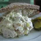 Annie's Turkey Salad - This turkey salad can be made with leftover turkey, or a turkey breast. It is my great-grandmother's recipe. Serve with assorted crackers or breads.