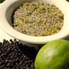 Lime Pepper - Lime pepper is a little different from lemon pepper, and even better because you make it yourself!