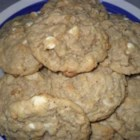 Cowgirl Cookies - Chunks of white chocolate, macadamia nuts, and oatmeal make these hearty brown sugar cookies a favorite with range roaming cowgirls and cowboys alike.