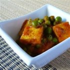 Indian Matar Paneer (Cottage Cheese and Peas) - Learn how to make your own paneer (Indian cheese) in this recipe for stir fried vegetables flavored with exciting seasonings. You'll be surprised at how easy it can be to enjoy the exotic flavors of India.