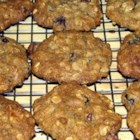 The Best Oatmeal Cookies - Chewy oatmeal raisin cookies with lots of flavor. You can also substitute 1/2 cup of wheat germ in place of some of the oatmeal, for a different flavor.