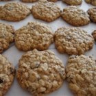 Oatmeal Raisin Cookies IX - This is an oatmeal raisin cookie developed to use vegetable oil instead of solid fats.  It is a slight modification of one with which I won first place in a company sponsored contest where I work.
