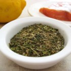 Dianne's Fish Seasoning - Sage, rosemary, marjoram, and other dried herbs make a perfect seasoning for fish such as salmon.