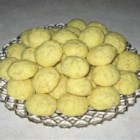 Crisp Little Lemon Cookies - This is an easy and delicious recipe made with a cake mix.