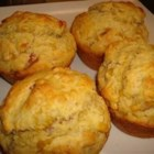Savory Breakfast Muffins - A delicious non-sweet breakfast muffin alternative featuring the classic combination of bacon and corn.