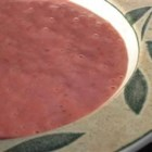 Rhubarb Sauce II - Just 10 minutes of stovetop cooking yields a lightly sweet, tangy rhubarb sauce.