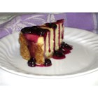 White Chocolate Blueberry Cheesecake - What could be better? White chocolate, cheesecake and blueberry topping!