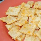Cheddar Crackers - These are the best ever. Spicy and cheesy crackers that will just melt in your mouth. Use more or less spice to suit your tastes.