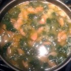 Comfort Soup a la Montreal - This amazingly fast, spicy, and delicious kale, potato, and Italian sausage soup is a family recipe given to me by my friend from Montreal.