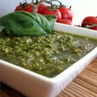 Pesto Sauce - Quick and easy pesto to top your pasta.  A great change from red sauce.