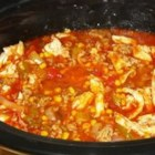 Get a Husband Brunswick Stew - Brunswick stew is a traditional Southern favorite! This version is brimming with pork, beef, and chicken.
