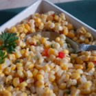 Corn with Jalapenos - Microwave fresh corn and jalapenos for a side dish with some heat.