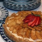 Walnut Pie Crust -  Ground walnuts, butter and sugar are combined, pressed into the bottom and sides of a 9-inch pie plate and baked. This is the perfect crust for a custard or ice cream no-bake pie. And it freezes beautifully.