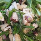 Chicken Pecan Salad - The combination of sweet and spicy pecans and sweet berries in this chicken salad makes it a taste sensation! The berries listed are suggestions; substitute whatever kinds you fancy, in whatever quantities! Makes a beautiful summer dinner.
