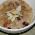 Honey Rice - This is a very delicious rice dish! It's similar to an Indian-style rice pudding recipe. Enjoy! Top with slivered almonds and cinnamon if you'd like.