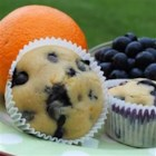 Blueberry Gems - Wonderful blueberry muffins with a twist - orange twist! Serve warm with butter.