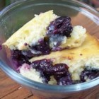 Cape Breton Blueberry Grunt - This blueberry grunt is easy to prepare and delicious to eat! Serve hot topped with whipped cream.