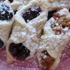 Kolachky - My father and grandparents were born in Czechoslovakia.  I use to watch my grandmother make these small pastries at Christmas time and I couldn't wait to eat them when she was all done.  I do hope you will enjoy this recipe as much as I do.     You will need a large area to work.