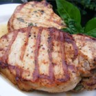 Chesapeake Bay Pork Chops - Boneless pork chops are marinated with seafood seasoning and apple cider vinegar and grilled to perfection!