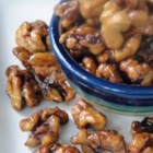 Chinese Fried Walnuts - Nutty nibbles that make for a perfect snack to set out at a shower or casual function. Walnuts, briefly boiled then tossed with sugar and deep fried, make for a tasty treat your guests will love!