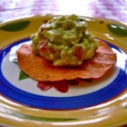 Avocado-Egg Salad Tostada Filling - Hard-boiled eggs, bacon, and tomato are stirred into avocado in this savory tostada filling.