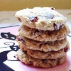 Chewy Oatmeal Cherry Toffee Crisps - Everyone just loves these cookies.  You can make them soft by leaving them on the cookie sheet for a minute or two. If you like a crisp and crunchy cookie - immediately remove them from the cookie sheet once they are done baking!  Full of berries, oatmeal, chocolate and toffee.