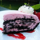 Chocolate Raspberry Cloud - You'll know this is a blue ribbon pie as soon as you experience your first bite. It 's made with a chocolate cookie crust which is then layered with a raspberry whipped cream filling and thin chocolate cookies until you run out of cream and cookies. Then, the pie is chilled and served with fresh raspberries.