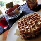 Cinnamon and Sugar French Waffle Toast - It's so easy to make French toast from scratch, then cook it golden brown in a waffle iron! Serve with butter, syrup, or jam.