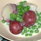 Creamed Peas and New Potatoes