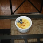 Creme Brulee IV - Cream is infused with vanilla and then combined with sugar and egg yolks in this traditional stovetop custard that is chilled and then given a burnt sugar top.