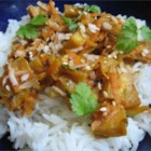 Amazing Simple Thai Tofu - You'd never guess it's Tofu!  Peanut and ginger flavors combine to create a wonderful Asian-flavored dish that everyone will love. Serve over white rice.