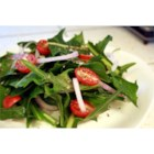 Dandelion Salad - Best when young and tender, dandelion greens make a great salad! If you're wary about using the greens growing in the yard, you may often find them in the produce section of food specialty shops.