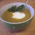 Carrot and Coriander Soup II