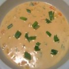 Crawfish Chowder - A creamy chowder consisting of green onions, corn, crawfish, cream of potato and mushroom soups, and a bit of cayenne pepper for a little kick. Serve with cornbread, or some crusty French bread.