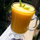 Mango Lassi II - A refreshing drink made with yogurt and mango - smooth, creamy, and absolutely heavenly!