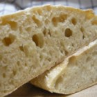 Ciabatta - Take five minutes today to make the starter, also called sponge, and tomorrow you can bake two loaves of this marvelous, slightly sour, rustic Italian bread that has a hearty crust.