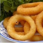 Onion Rings - A slightly sweet batter makes these crispy rings extra special and delicious! You may want to double or triple the recipe.