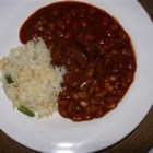 Chile Colorado - I like to make this chile for my Mexican husband, who also doesn't like tomatoes in his chile.  This is a very Mexican chile.  If you decide to add beans, do it after the chile is finished.