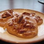 Pralines - Pecans in a sugar candy coating.  Simple and elegant.