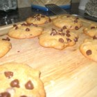 Chocolate Chip Cookies Lite - Applesauce and egg whites stand in for butter and eggs in these better-for-you cookies.