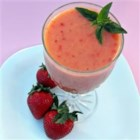 Tropical Fruit Smoothie - A yummy fruit smoothie made with tropical fruits.