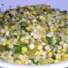 Corn and Tomatillo Salsa - Serve this exciting summer favorite cool with tortilla chips.