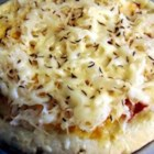 Reuben Pizza - This is a great recipe that I got from a friend. If you can't find whole wheat bread dough, I've used white and I've also made my own.