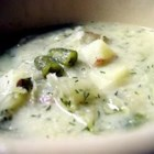 Russian Green Bean and Potato Soup - This is a hearty Russian vegetable soup with a great flavor.  Add seasonal veggies for more variety.  Enjoy!